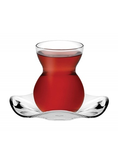 Paşabahçe 12 Parça Dantel Çay Takımı Renkli